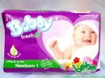 Tã giấy Bobby Newborn 1